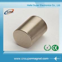 Ímã de cilindro de neodímio sinterizada difícil (50 * 20mm)