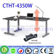 3 ноги электрическая Регулируемая по высоте столы/столы без лицевая панель