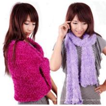 Großhandelsart und weise geänderter magischer Schal magischer wolliger Schal-Schal (MU6603)