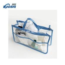 clear pvc bag with zipper manufactur