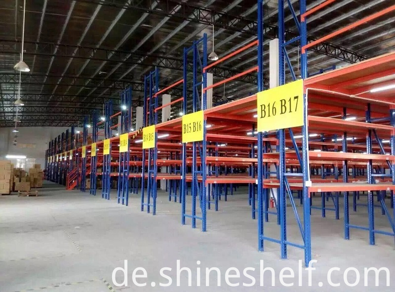Rack Supported Steel Floors