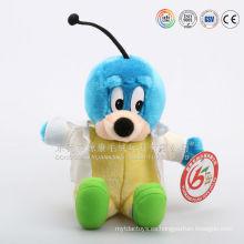 Hecho en China felpa de peluche de peluche suave rellenos juguetes de abeja