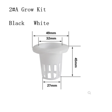 Hidropônico Grow Systems Plastic Engraftment Basket