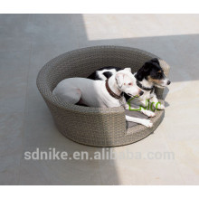 2014 hot sale latest design high quality waterproof garden rattan dog cage for sale cheap