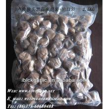 Top-quality solo black garlic