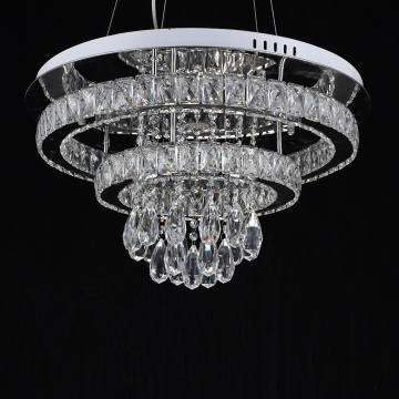 Modern crystal chandelier hanging light