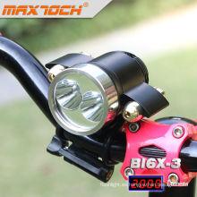 Maxtoch BI6X-3 Dual Cree XML T6 bicicleta luz Led