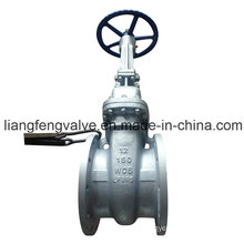 API Rising Stem Flange End Gate Valve with Carbon Steel