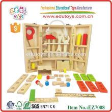 Hot sale carpenter set wooden toys kit