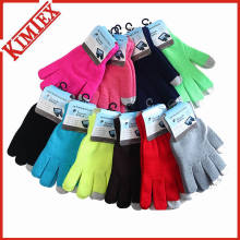 Wholesale Cheap Acrylic Magic Knitted Touch Screen glove