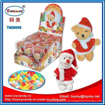 Plüsch Weihnachtsspielzeug mit Süßigkeiten für Kinder