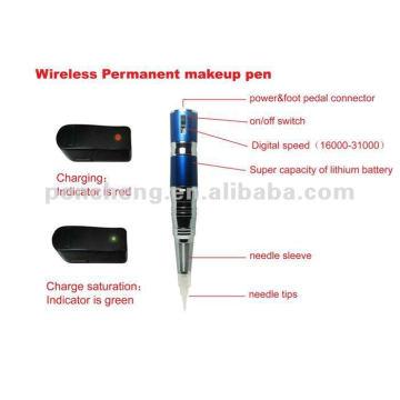 wireless Permanent makeup pen & Tattoo supply