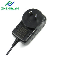 Adaptador POS de pared con interruptor de 18W 9Volt 2000mA DC