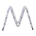 Escalera multiusos de aluminio AY-404