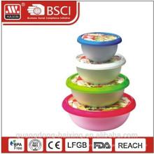 Круглая пищевых контейнеров (4шт 1 Л - 5 Л)