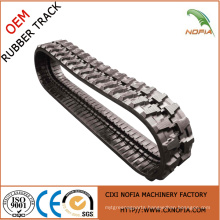 Rubber track for construction machines,excavator rubber tracks
