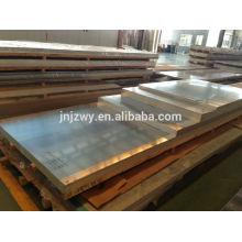 Plaque en alliage d'aluminium anodisée de 50 à 5,0 mm 400 mm