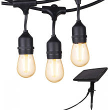 Bateria Solar LED S14 String Light