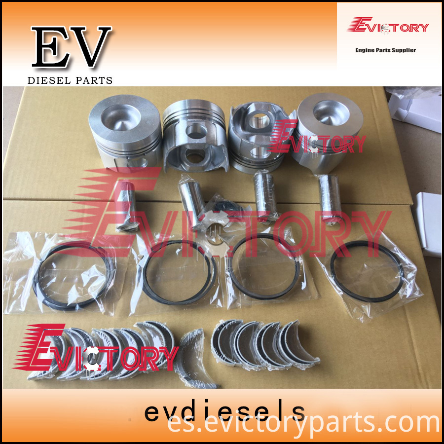 4TN82 piston+ring+ bearing