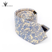 Custom logo design microfiber jacquard mens neckties