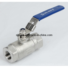 2PC Ball Valve with High Pressure (VALVULA)