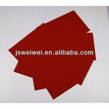 Tissu enduit de caoutchouc de silicone de la Chine avec la grande largeur dans différentes couleurs
