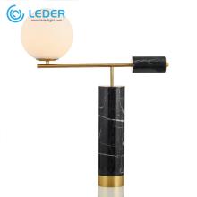 LEDER Black Ball Настольная лампа