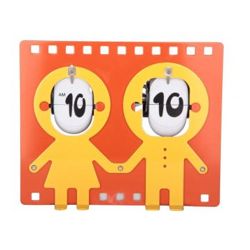 Boys and Girls Couple Flip Clock