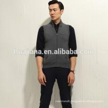 Fashion design man's cashmere knitting vest