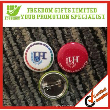 Promotional Button Custom Tin Badges