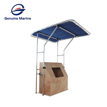 genuino marino de lujo barco de yates de hardware toldo de tela impermeable techo sombrilla toldo de lujo barco de yates hardware a prueba de toldo