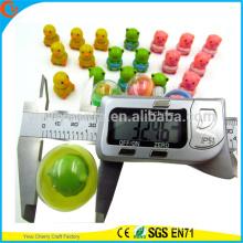 Cápsulas plásticas coloridas vendedoras calientes de los juguetes de la alta calidad para la máquina expendedora