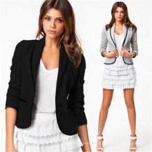 Günstige Großhandel dünne beiläufige Frauen Business-Anzug (50087-1)