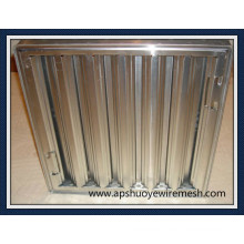 Waschbarer wiederverwendbarer Edelstahl-Aluminiummaschenfett-Filter