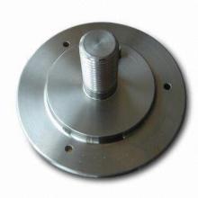 Kundengebundener Kohlenstoffstahl-Flansch mit CNC-Maschine (DR193)