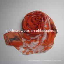 Long chignon à la pate de polyester pashmina