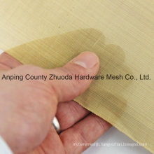 New Arrival Premium Woven Wire Brass Mesh Plain Weave