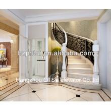 glass villa panoramic lift /small panoramic passenger elevator