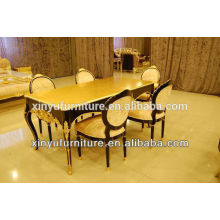 Carved Restaurant Dining chair and table D1035