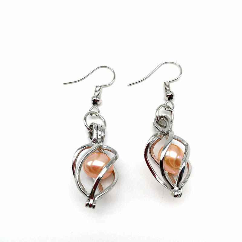 Fashion Cage Pendant Earrings