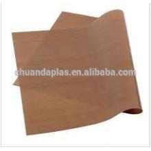 Folha de cobertura de teflon para transferências de calor por sublimação