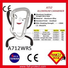 2017 Neuer Entwurfs-Felsen-kletternder Aluminiumkarabiner mit CER-Bescheinigung