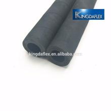 Tuyau flexible de sablage en caoutchouc à haute température de tresse de textile flexible