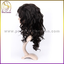 2015 special cheap price virgin brazilian full lace wig long hair man