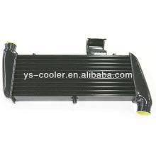 Placa de aluminio vendedora caliente y intercooler del turbo de la barra, intercooler del turbo para el automóvil universal