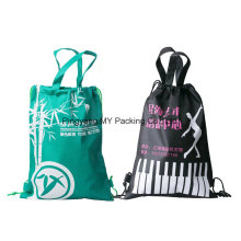 Cheap Custom Advertisement Rope Drawstring Backpack