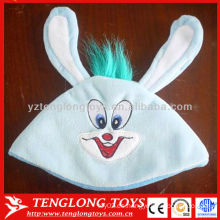 La nueva venta caliente del diseño embroma el sombrero largo encantador de la gorrita tejida del invierno de la felpa de los oídos