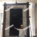 Natural Wood Veneered Fire Rated Wooden Doors