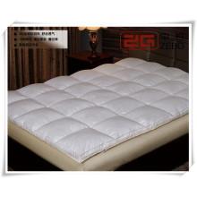 100% algodão com microfibra enchimento 5 centímetros espessa colchão macio toppers