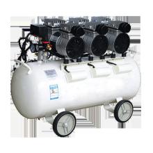 Hot Sale Low Noise 8 bar 3 CFM 40 L /min silent oil free 550 W air compressors with 50L tank